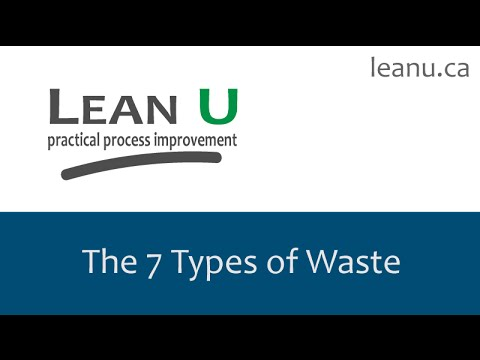 The 7 Types of Waste
