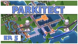 Parkitect - Ep. 5 - The Water Park  - Let