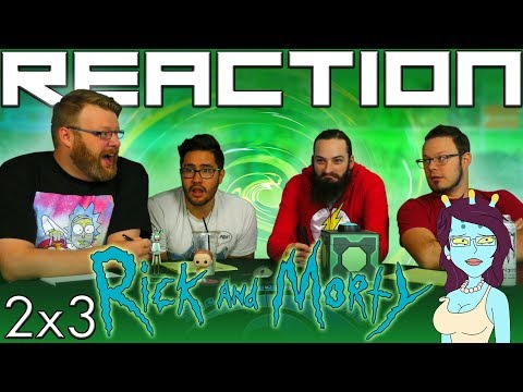"""Rick and Morty 2x3 REACTION!! """"Auto Erotic Assimilation"""""""