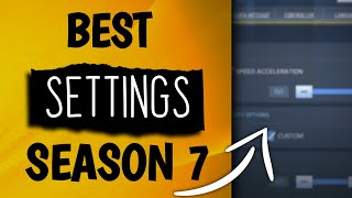 *BEST* Settings FOR SEASON 7 | Best Phone Settings -  Call of Duty Mobile