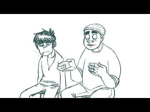 Gorillaz - We Are The Dury - Fan Animatic