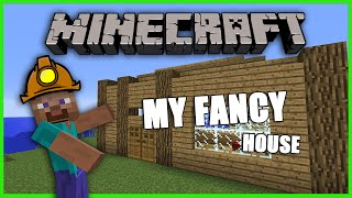 "Minecraft Demo Gameplay [2] - ""FANCY HOUSE BUILDING!"""