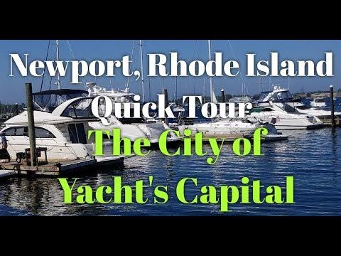 Newport Rhode Island Quick Tour The City Of Yacht Capital.