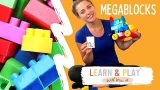 Learn Colors & Play Blocks with Miss A! Educational and Spee…