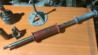 Обратный молоток своими руками. Как снять гранату ( ШРУС )