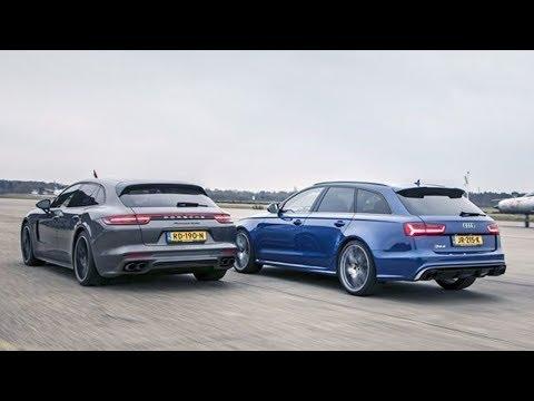 2018 Audi RS6 Avant Performance vs 2018 Porsche Panamera Turbo Sport Turismo Technical Specification