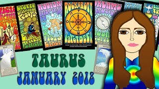 TAURUS JANUARY 2018 - Family Happiness! Eclipse! Tarot psychic reading forecast predictions
