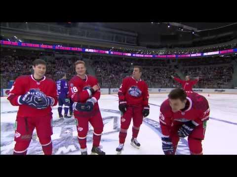 Матч Звезд 2015: Эстафета на скорость / KHL All Star Game 2015: Fastest skater team relay