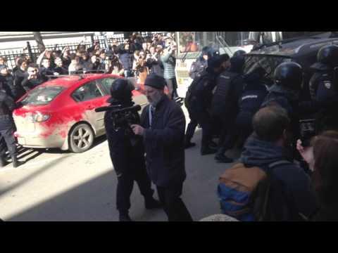 Задержание Навального 26. 03. 2017