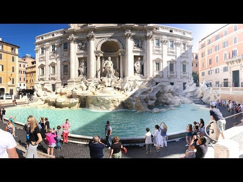 Trevi Fountain Rome 4K Travel Guide Must See & Do Video