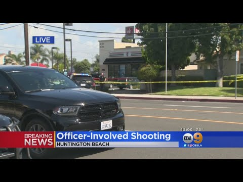 Man Shot By Police Outside Huntington Beach 7-Eleven