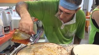 Julio, the pancake man of Mallorca