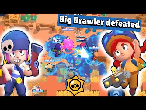 OMG !! Big Brawler Defeated in Seconds - Brawl Stars Gameplay   [PATIL]