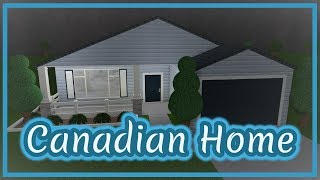 ROBLOX | Welcome To Bloxburg: Canadian Home