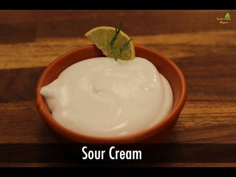 Sour Cream | Sanjeev Kapoor Khazana