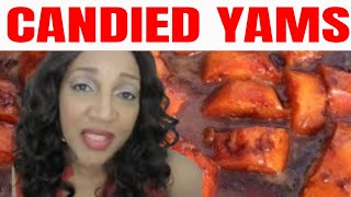 How To Cook Candied Yams Ll Jjackeeeeee