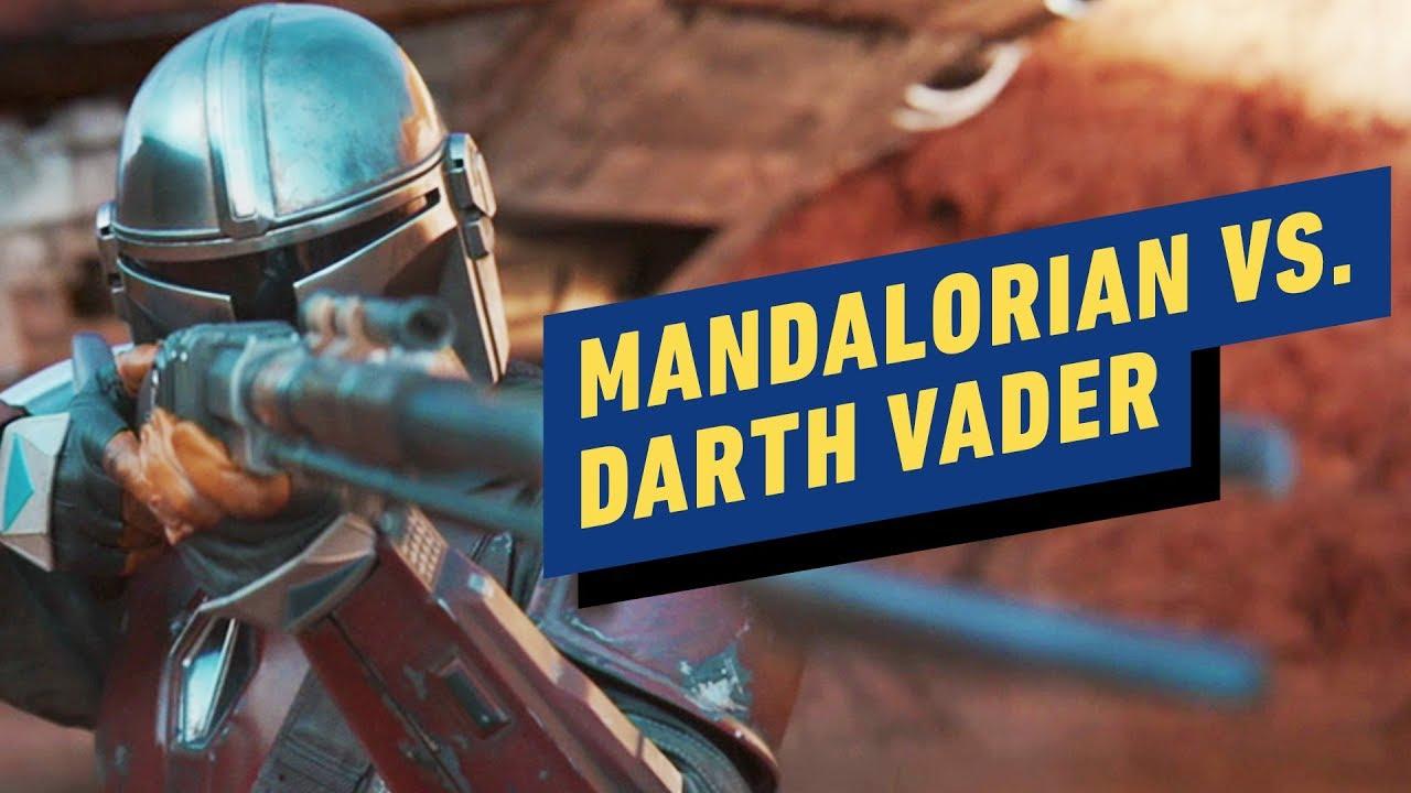 Poderia o Mandaloriano pegar o vilão de Star Wars Darth Vader? + vídeo