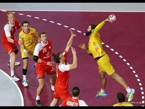 Spain vs Poland (HD 720p) - Bronze Medals Game - Men's Handball World Championship 2015