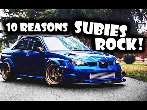 10 Reasons Why The Subaru Impreza ROCKS!