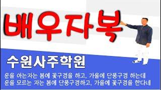 【사주시크릿】자평진전 격국과 용신 #배우자운이 좋지못한 남성의 사주풀이