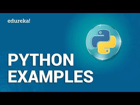 Python Examples | Python Programs For Beginners | Python Tutorial For Beginners | Edureka thumbnail