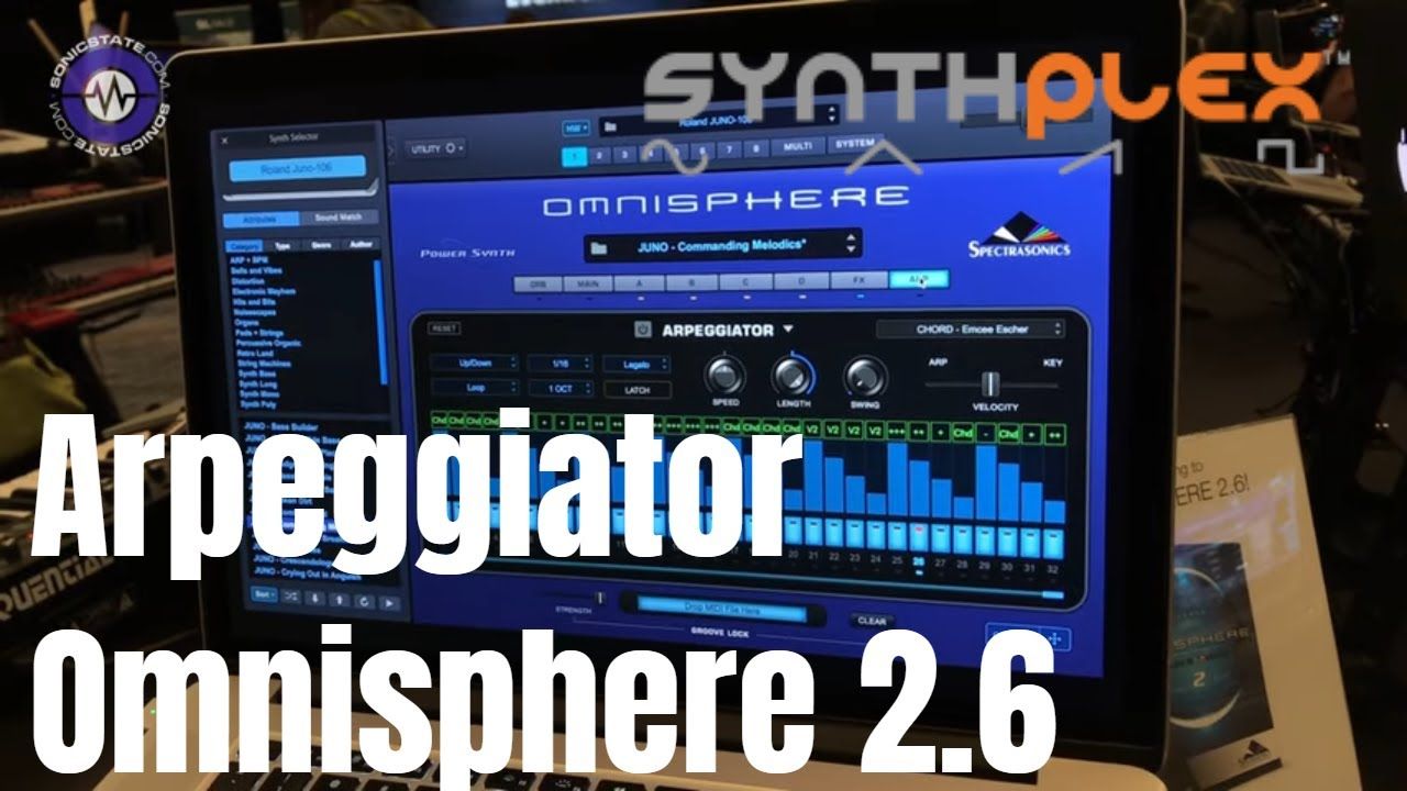 Synthplex 2019 Omnisphere 2 6 - More on That Arpeggiator