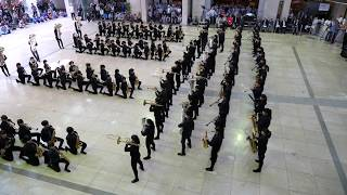 5月12日。さわやかちば県民プラザのアゴラで行われたマーチング発表会。...