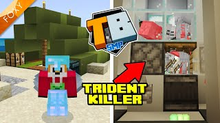 Trident Killer AFK XP Farm | Truly Bedrock Season 1 [104] | Minecraft Bedrock Edition 1.14 SMP