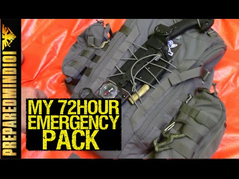 FAQ: What's Inside my 72 Hour Emergency Pack? - Preparedmind101