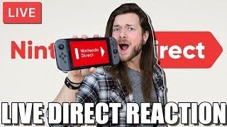 Nintendo Direct (FINALLY!) // LIVE FANBOY REACTION