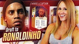 MY BEST DRAFT IN FIFA 18!! DRAFT TO RONALDINHO #26   FIFA 18