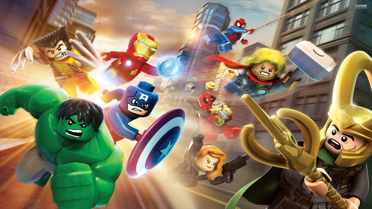Image result for LEGO MARVEL SUPER HEROES