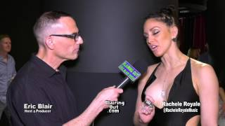 """Rachele Royale & Eric Blair @""""Men Of Science"""" Her view on fame 2017"""