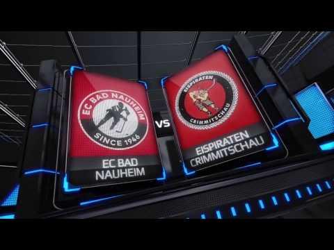 DEL2 Highlights - Playdowns Spiel 5 | EC Bad Nauheim vs. Eispiraten Crimmitschau