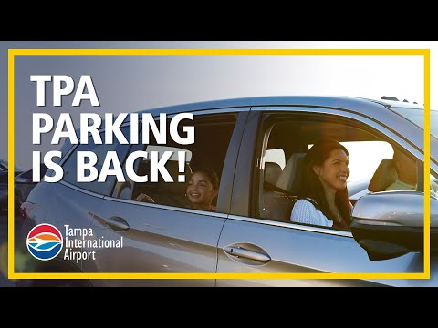 Tampa International Airport Parking Is Back!