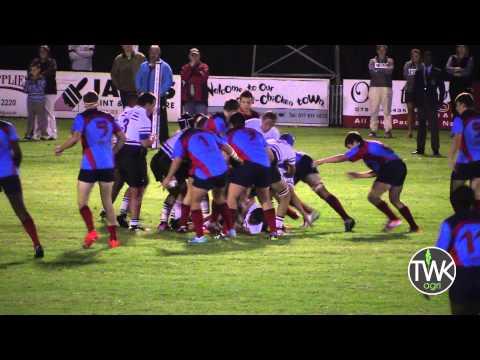 School Rugby Action - 1st Ligbron Vs Hoogenhout 29-04-15
