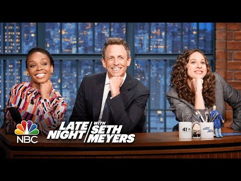 Download Youtube: Jokes Seth Can't Tell: Starbucks' First Black Female COO, Lesbian Nuns