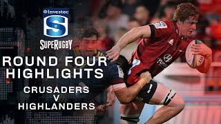 ROUND 4 HIGHLIGHTS | Crusaders v Highlanders - 2020