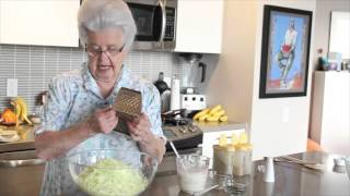 Cooking With Oma - Coleslaw And Cucumber Salad