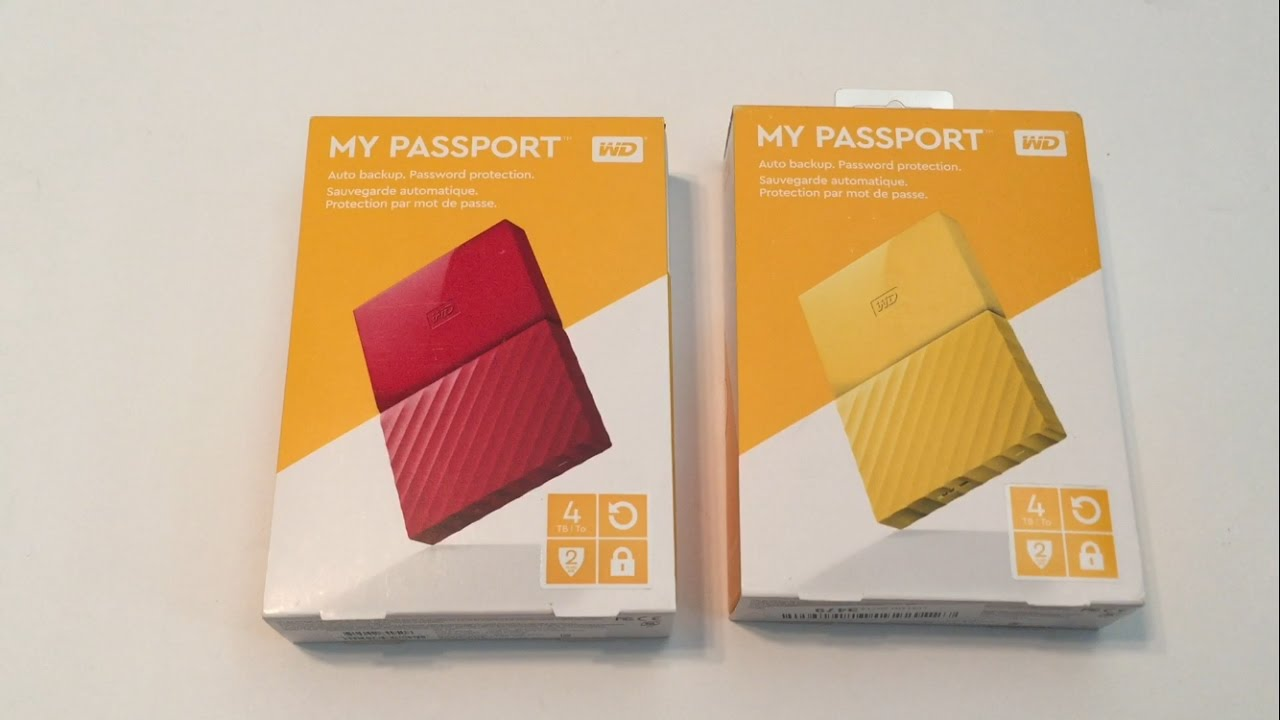how to use wd my passport