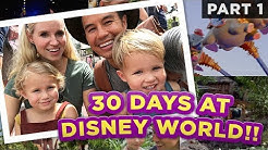 30 Stays in 30 Days!! The Bucket List Family at Walt Disney World /// Part 1
