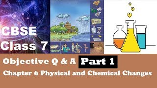 CBSE Class 7 Science objective MCQs question answer Chapter 6 Physical and Chemical Changes