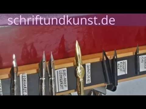 Kalligrafie - Federn aufbewahren