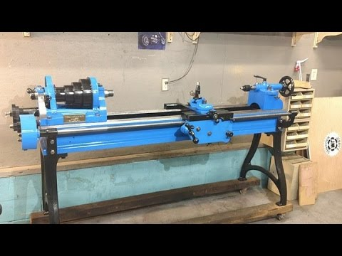 Vintage Lathe restore, Cresson, Hubbard and Smith Part five, the drive