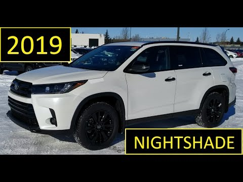 Repeat 2019 Toyota Highlander Nightshade Review Of Features And