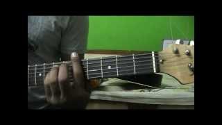 Garaj Baras Sawan guitar lesson intro strumming