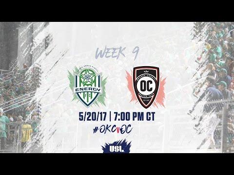 USL LIVE - OKC Energy FC vs Orange County SC 5/20/17