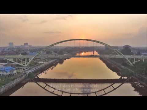 Jembatan Leighton 3 (siak 3) Pekanbaru by dji phantom 3 standart