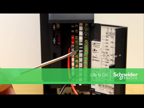Connecting a Potentiometer to the ATV320 Drive | Schneider Electric Support