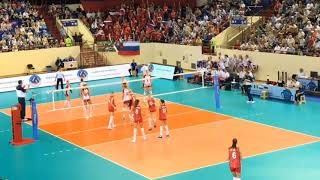 RUSSIA x POLAND Friendly Match | Governor's Cup 2019 | 3 SET